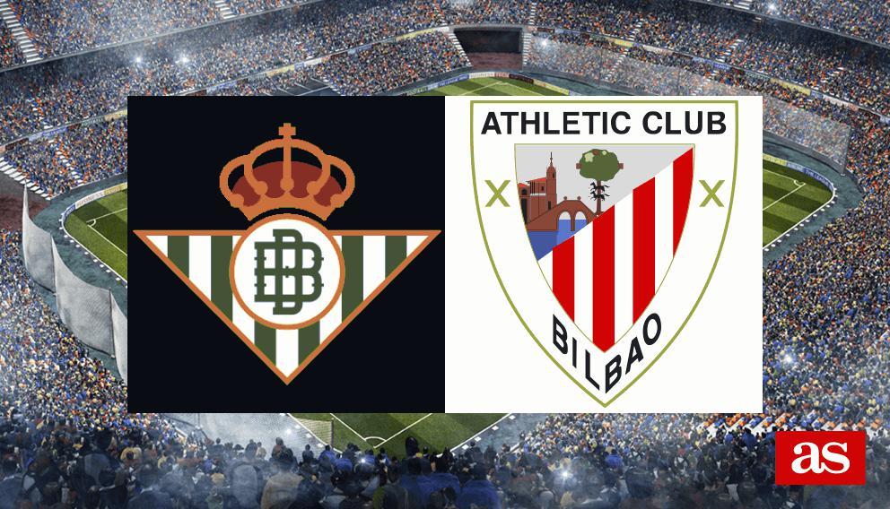 Betis - Athletic: resultado, goles y crónica - Liga Santander
