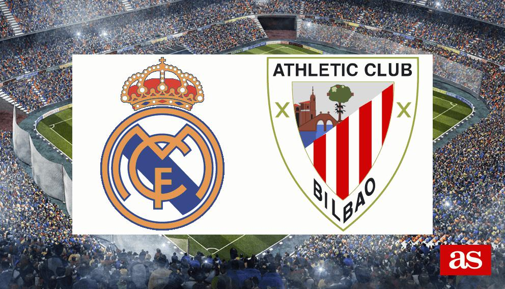 Real Madrid - Athletic en vivo y en directo online: LaLiga Santander 2016/2017