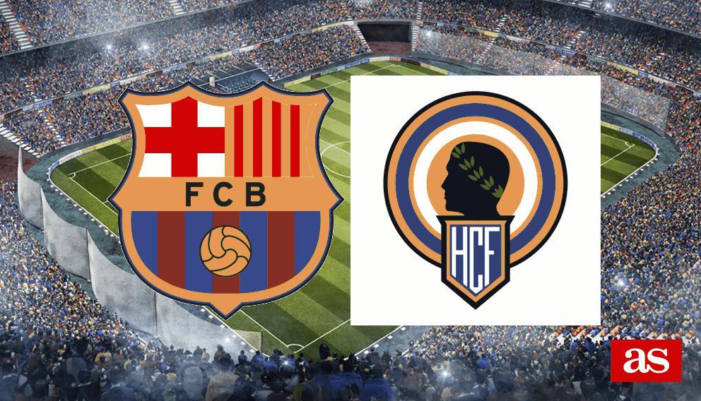 Barcelona 7-0 Hércules: Resumen, goles y resultado