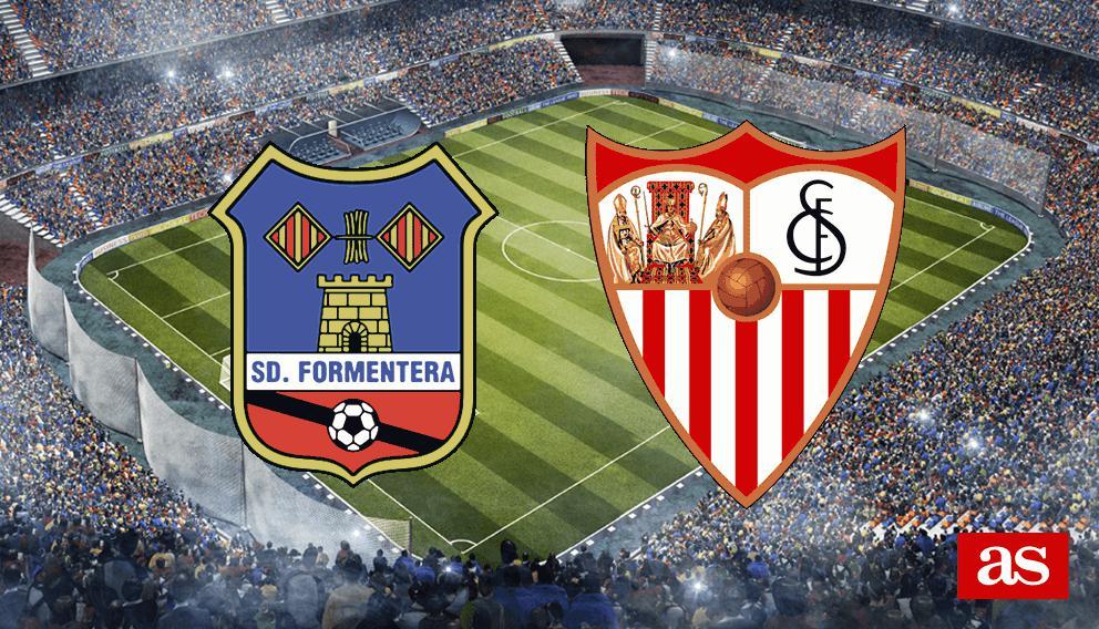 Formentera vs. Sevilla live: Copa del Rey 2016/2017 - AS.com