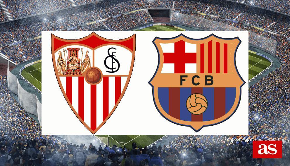 Sevilla - Barcelona en directo y vivo online: LaLiga Santander J11