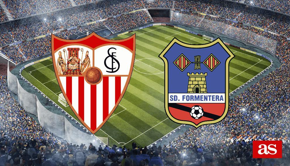 Sevilla 9-1 Formentera: Resumen, resultado y goles
