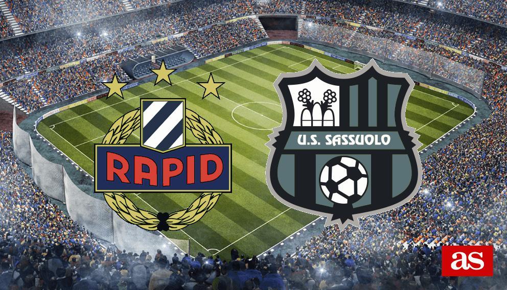 R. Viena vs. Sassuolo live: Europa League 2016/2017 - AS.com