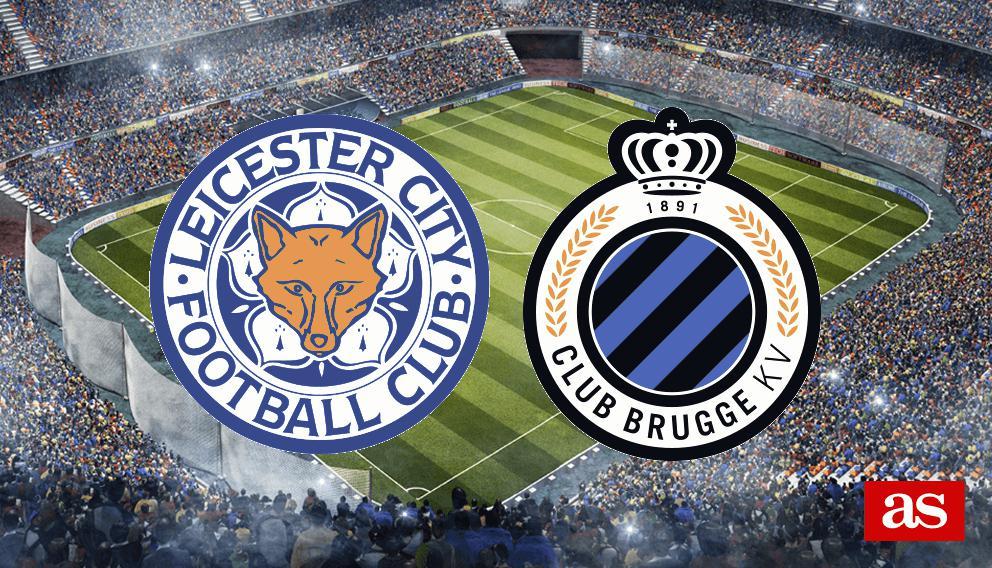 Leicester-Brujas: goles, resumen y resultado - Champions League