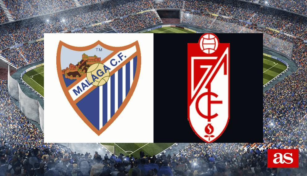 Málaga - Granada: resultado, resumen y goles