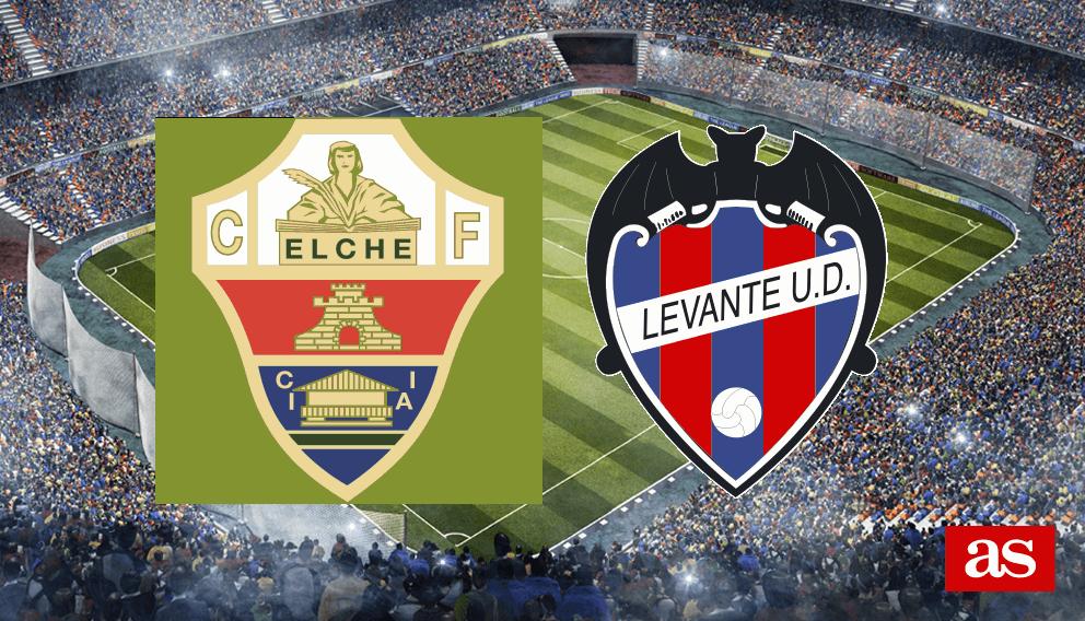 Elche - Levante en vivo y en directo online: LaLiga 1,2,3 2016/2017