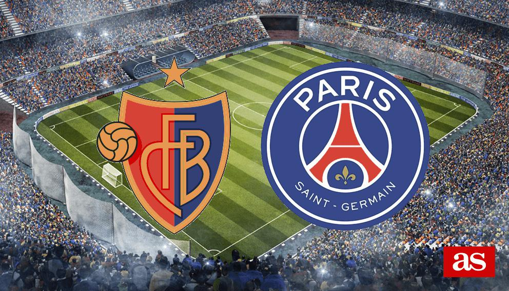 Basilea vs. PSG live: Champions League 2016/2017 - AS.com