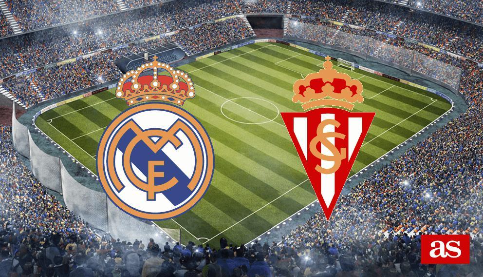 Real Madrid 2-1 Sporting: Resumen, goles y resultado