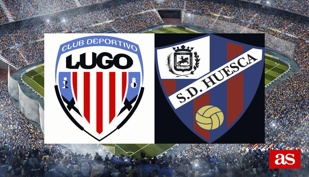 Lugo - Huesca: resumen, resultado y goles