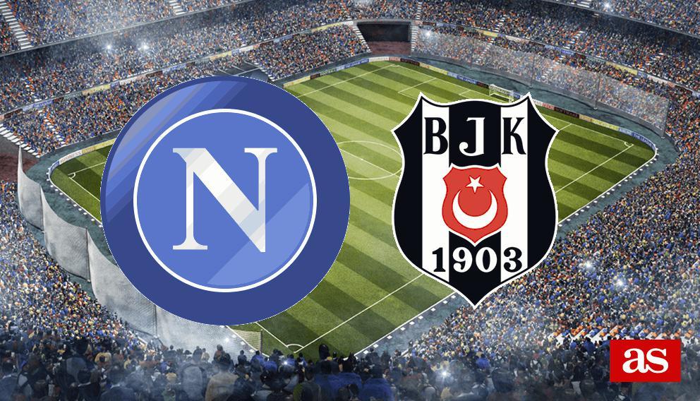 Nápoles vs. Besiktas live: Champions League 2016/2017 - AS.com