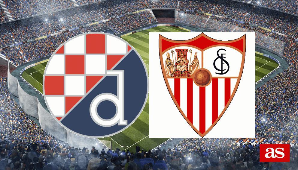 D. Zagreb - Sevilla en vivo y en directo online: Champions League 2016/2017