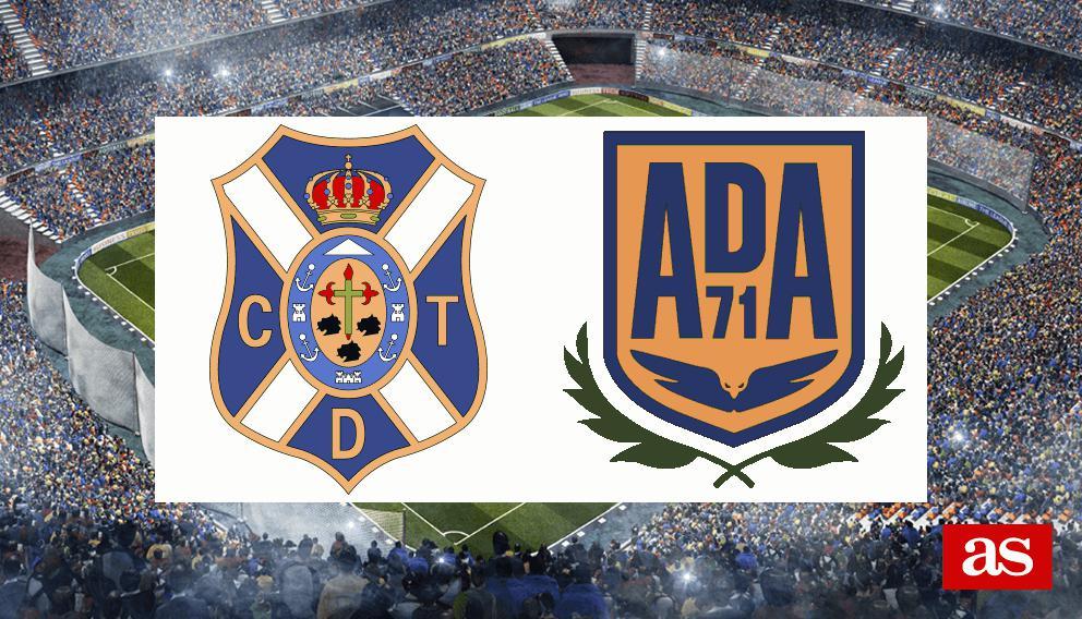 Tenerife - Alcorcón: resumen, resultado y goles