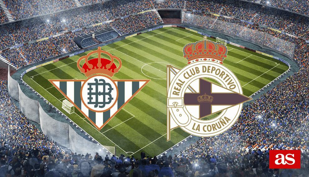 Betis - Deportivo: goles, resultado y resumen - Copa del ...