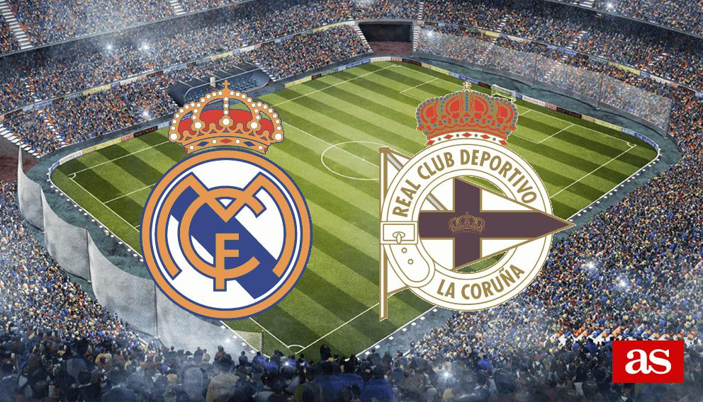 Real Madrid vs. Deportivo live: LaLiga Santander 2016/2017 - AS.com
