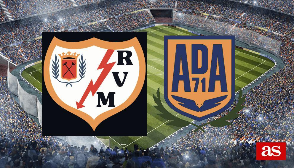 Rayo 2-0 Alcorcón: goles, resultado y crónica - Liga 123