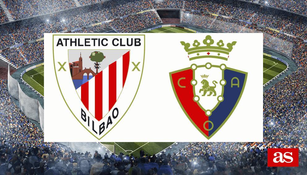 Athletic vs. Osasuna live: LaLiga Santander 2016/2017 - AS.com