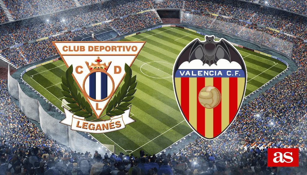 Leganés vs. Valencia live: LaLiga Santander 2016/2017 - AS.com