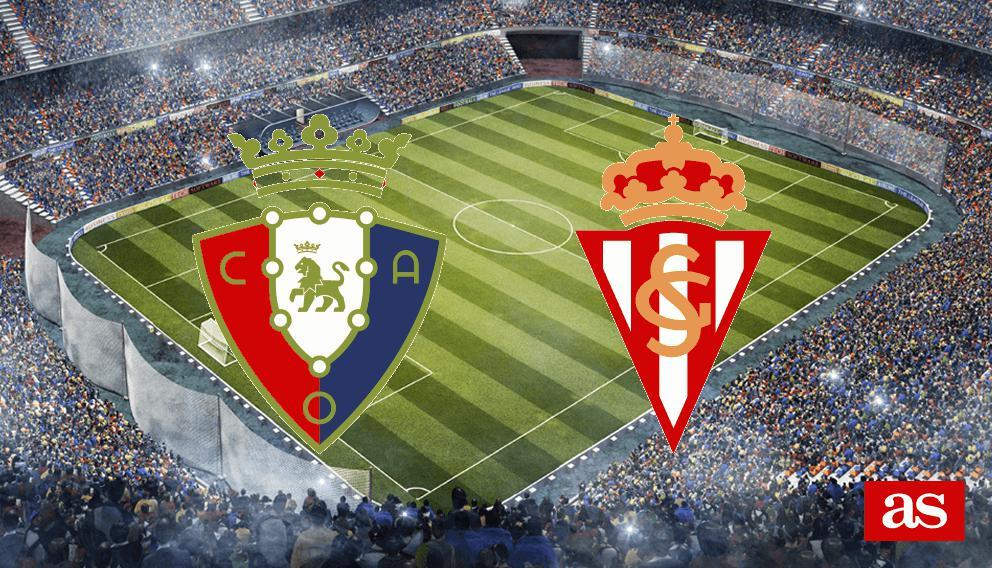 Osasuna-Sporting en directo online: Liga Santander