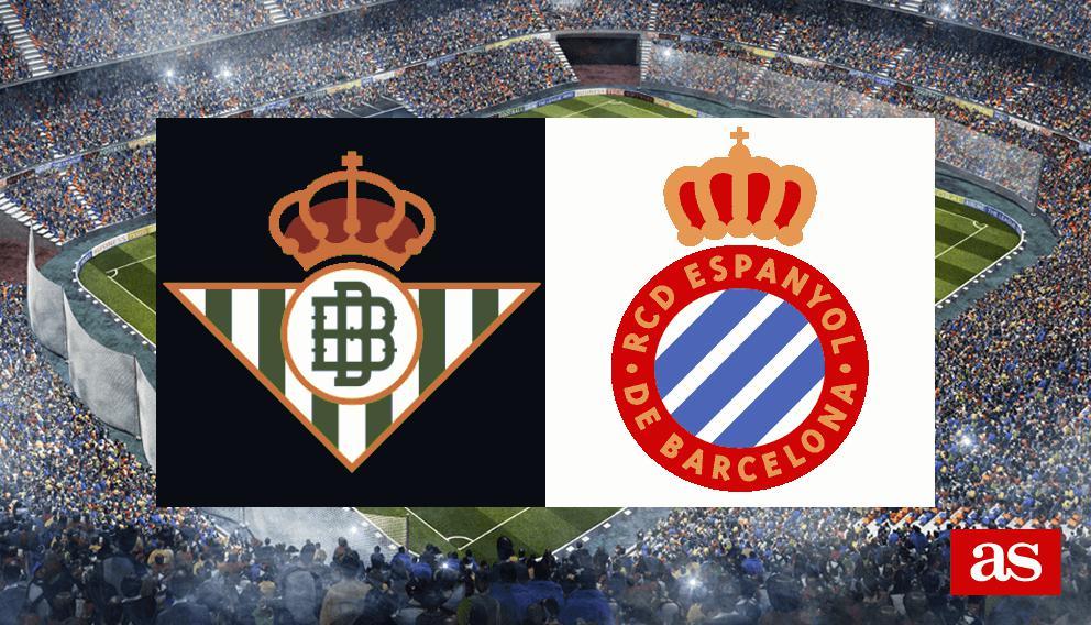 Betis vs. Espanyol live: LaLiga Santander 2016/2017 - AS.com
