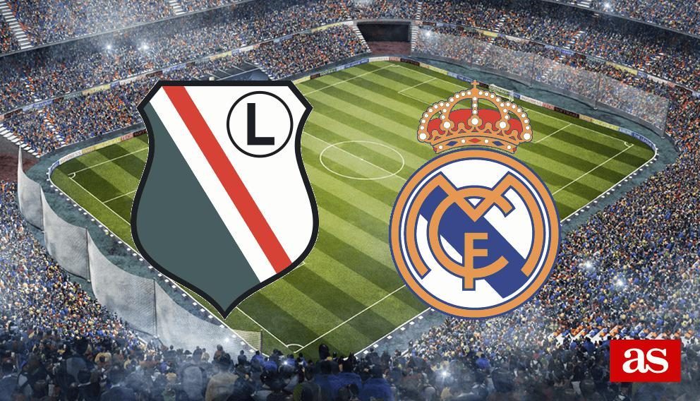 Legia - Real Madrid en vivo y en directo online: Champions League 2016/2017