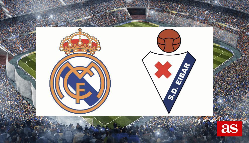 Real Madrid - Eibar en vivo y en directo online: LaLiga Santander 2016/2017