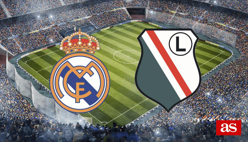 Real Madrid - Legia en vivo y en directo online: Champions League 2016/2017