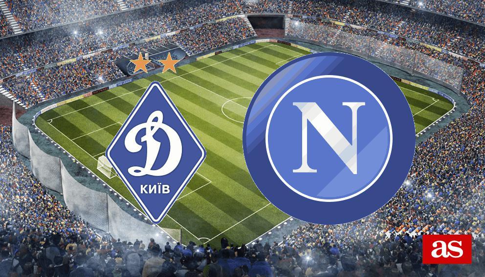 Dinamo Kiev - Nápoles en vivo y en directo online: Champions League 2016/2017