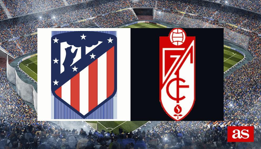Atlético - Granada en vivo y en directo online: LaLiga Santander 2016/2017