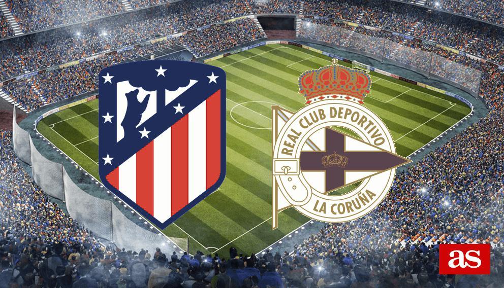 Atlético - Deportivo en vivo y en directo online: LaLiga Santander 2016/2017