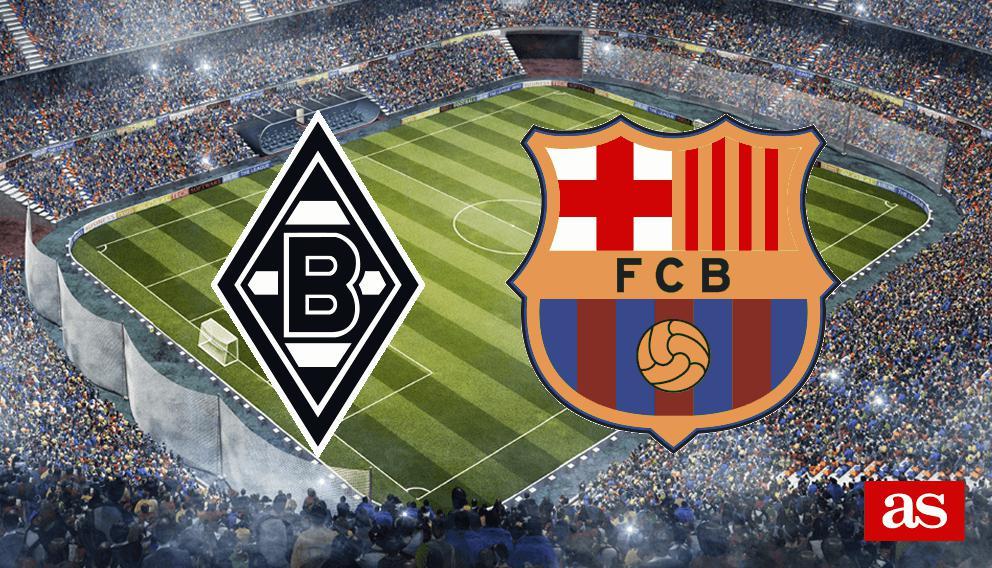 B. MGladbach - Barcelona en vivo y en directo online: Champions League 2016/2017