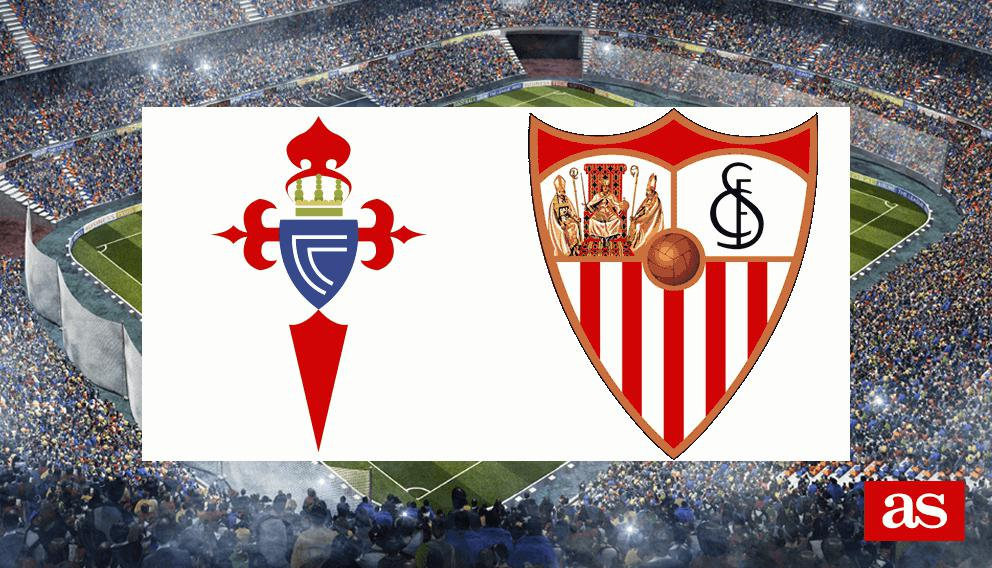Celta - Sevilla: goles, resultado y crónica - Liga Santander