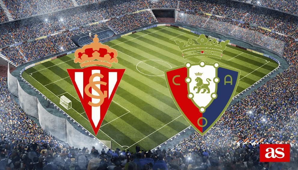 Sporting 3-1 Osasuna: resumen, resultado y goles
