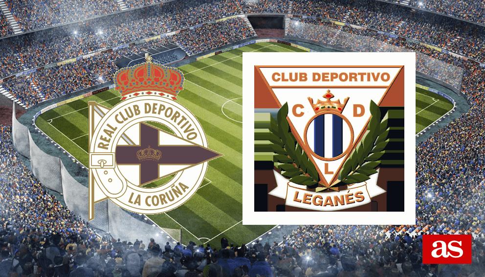 Deportivo - Leganés en vivo y en directo online: LaLiga Santander 2016/2017
