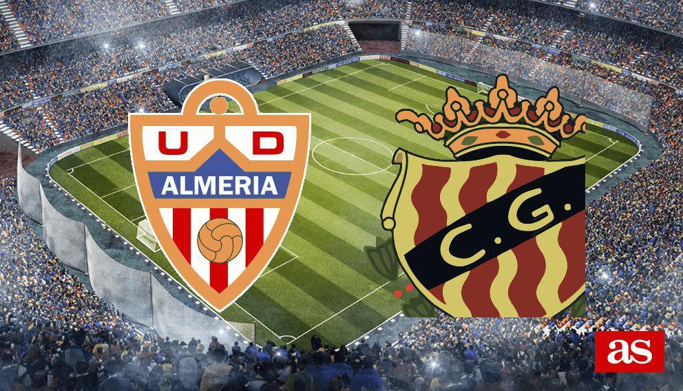 Almería - Gimnàstic en vivo y en directo online: LaLiga 1,2,3 2016/2017