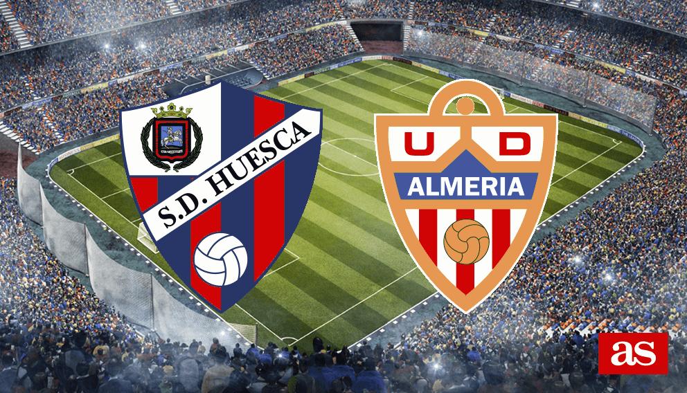 Huesca - Almería en vivo y en directo online: LaLiga 1,2,3 2016/2017