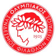 Escudo/Bandera Olympiakos