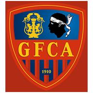 Escudo/Bandera Gazélec Ajaccio