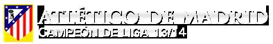 Atlético de Madrid Campeón de liga 2013/14