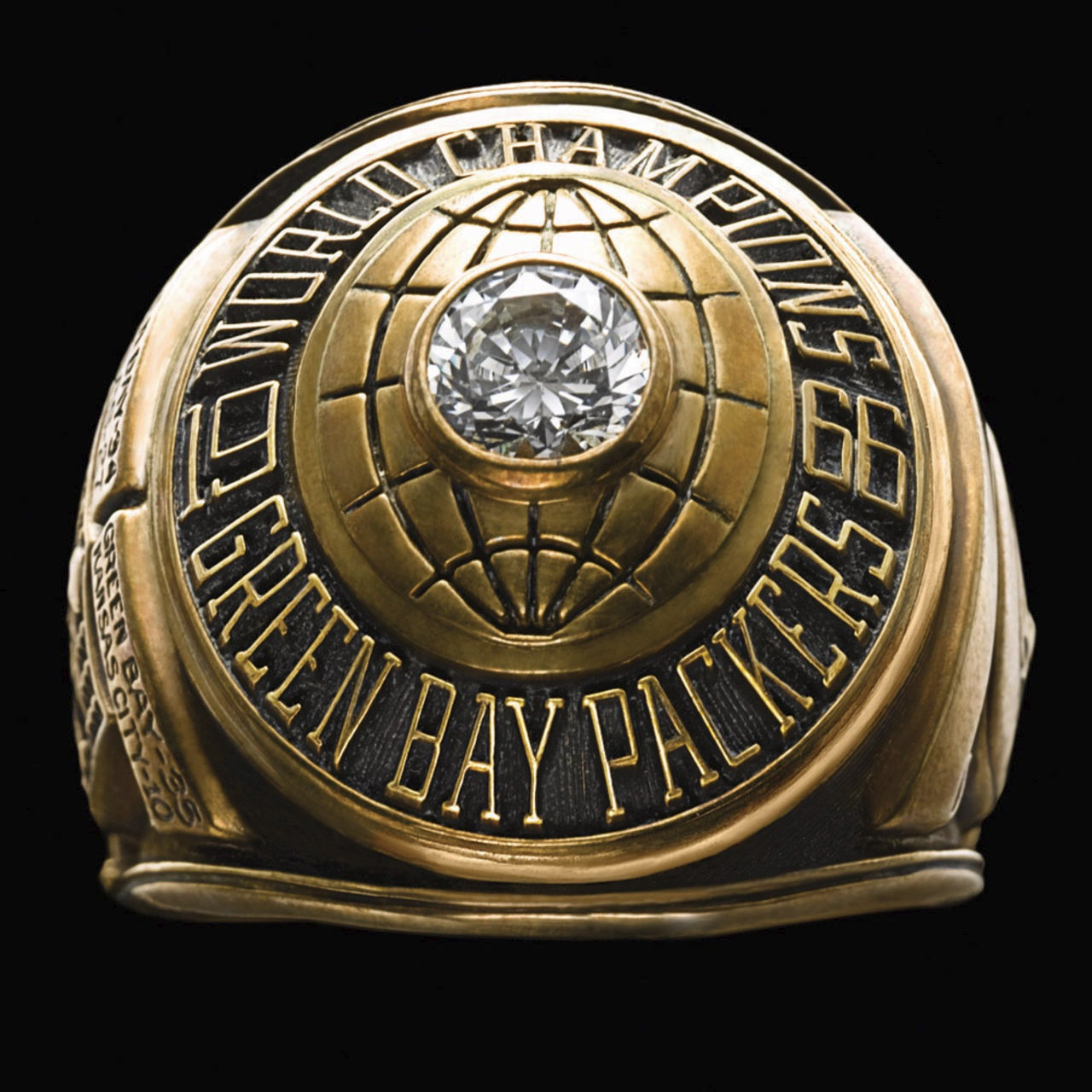 Green Bay Packers 1967 champions ring