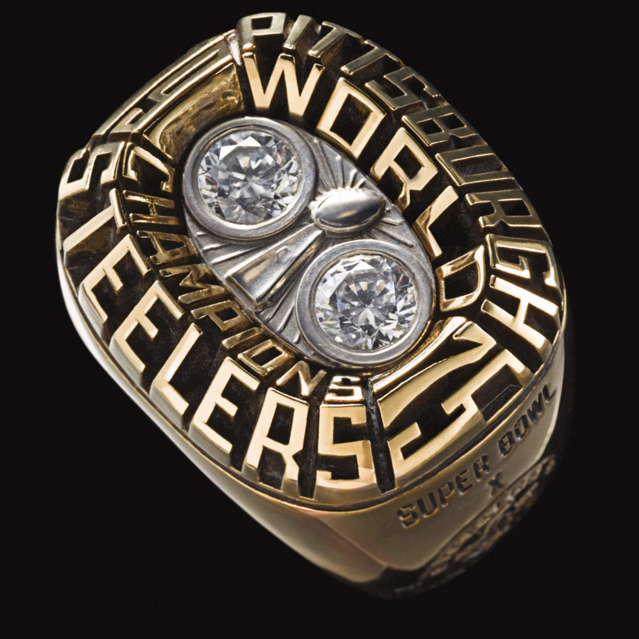 Pittsburgh Steelers 1976 champions ring