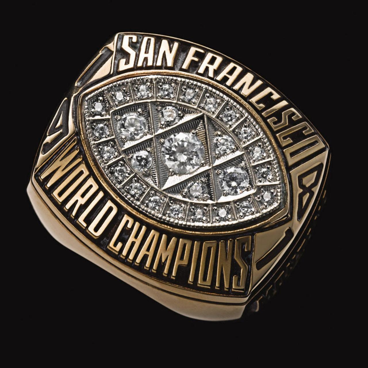 San Francisco 49ers 1982 champions ring