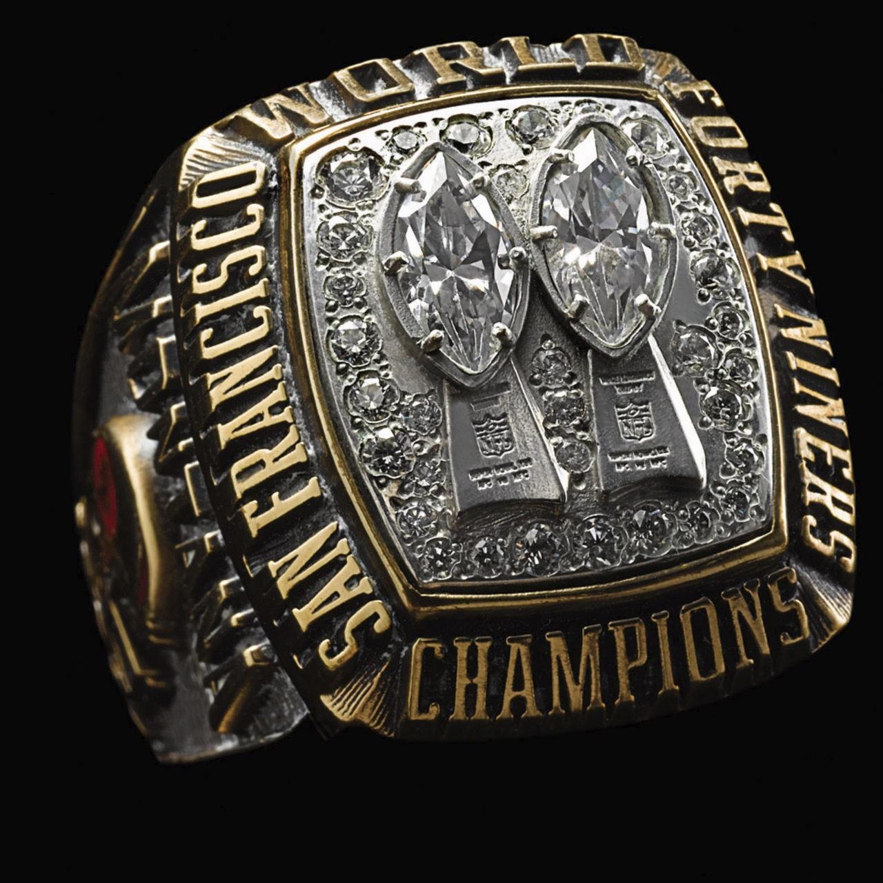 San Francisco 49ers 1985 champions ring