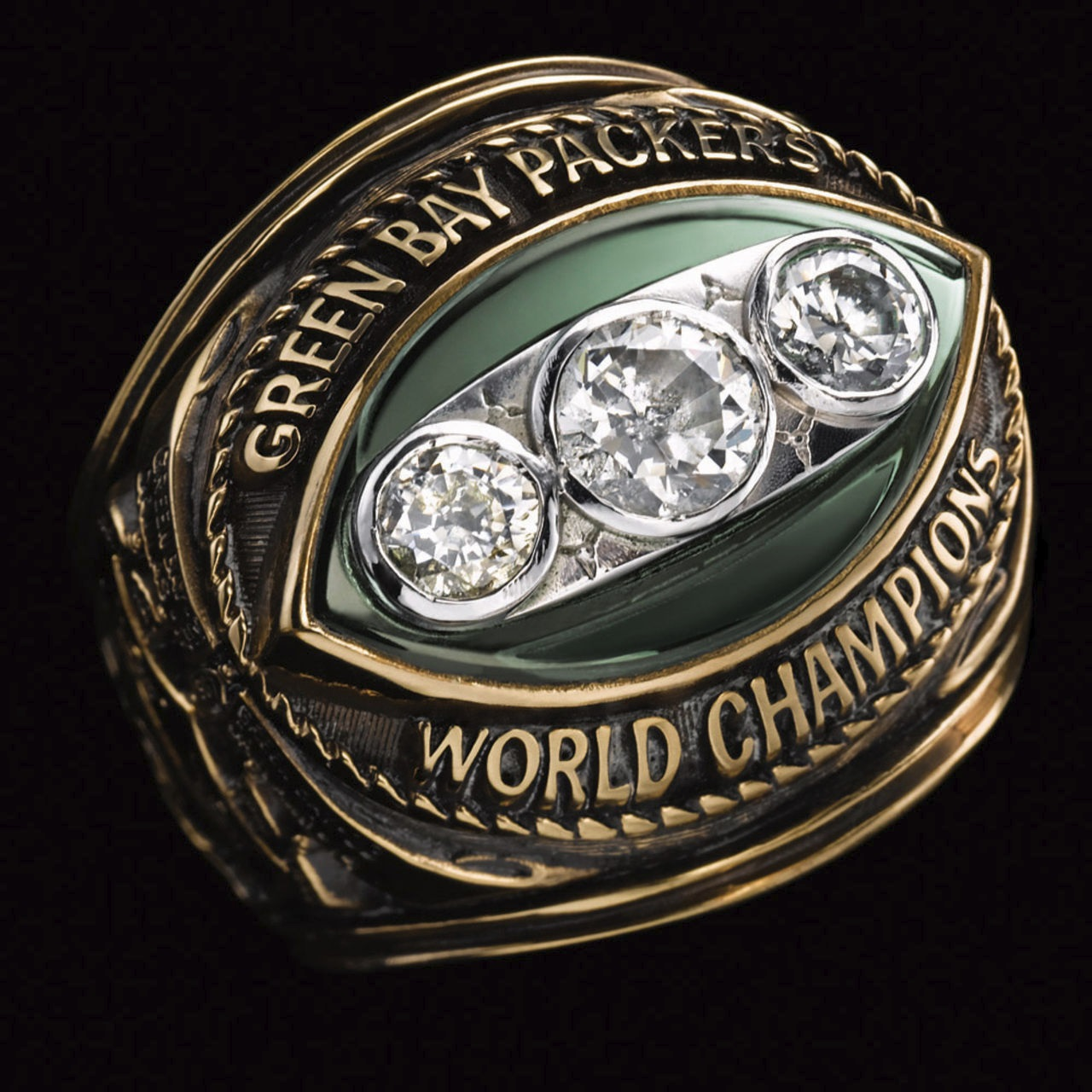 Green Bay Packers 1968 champions ring