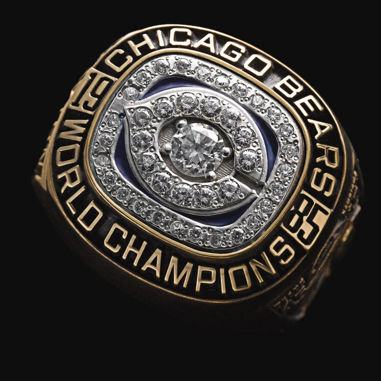 Chicago Bears 1986 champions ring