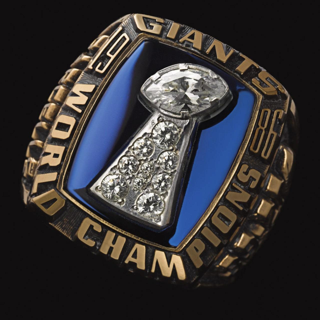 New York Giants 1987 champions ring