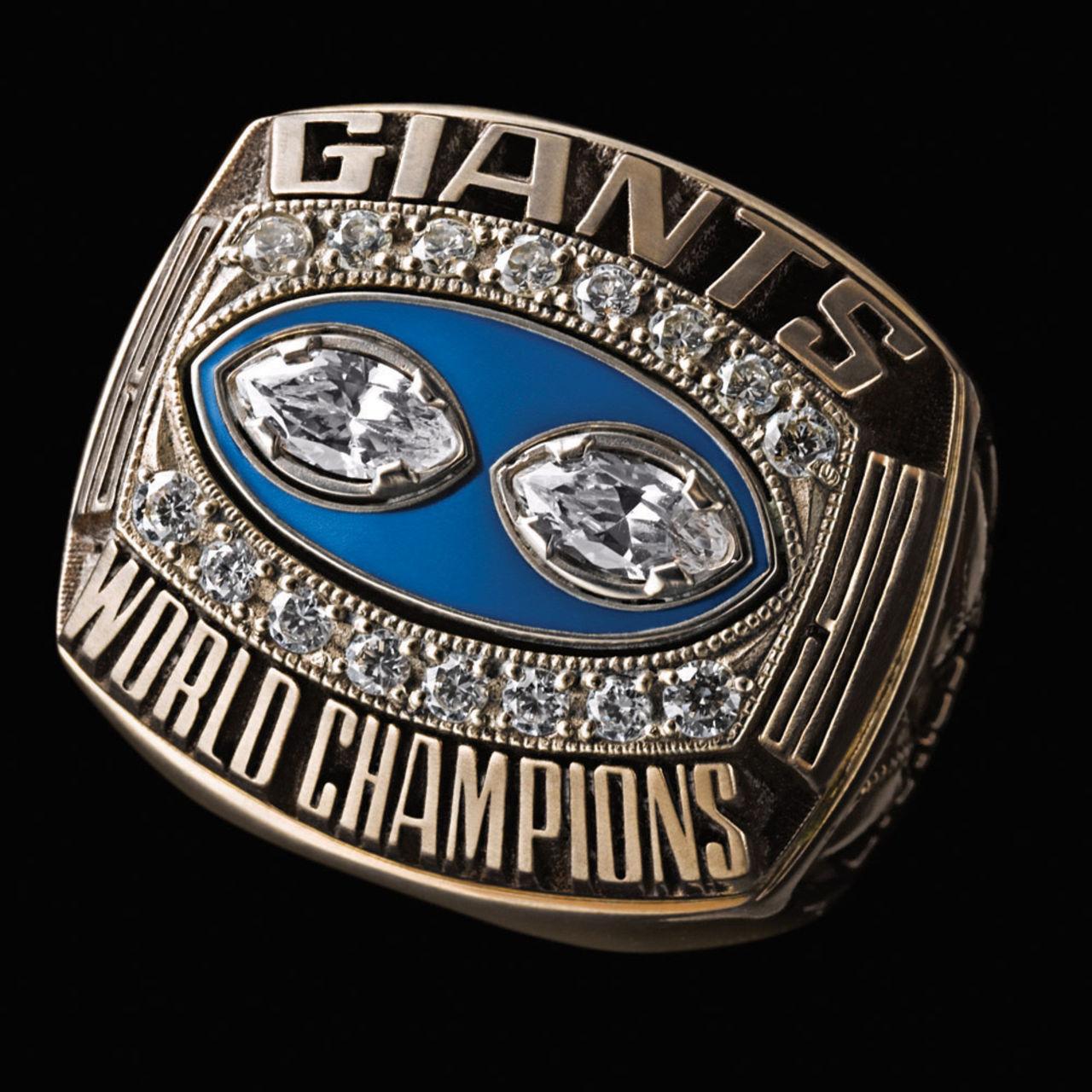 New York Giants 1991 champions ring