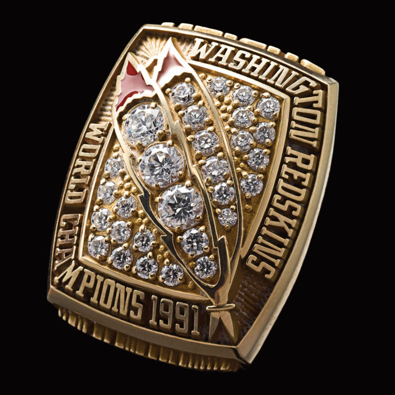 Washington Redskins 1992 champions ring
