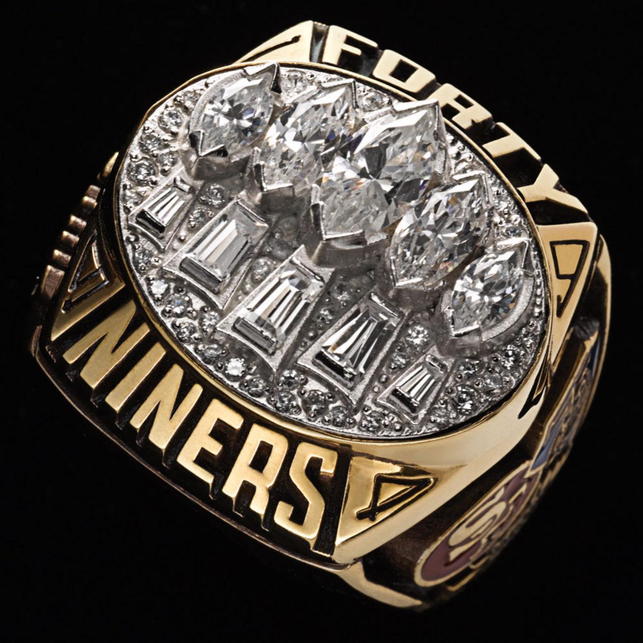 San Francisco 49ers 1995 champions ring