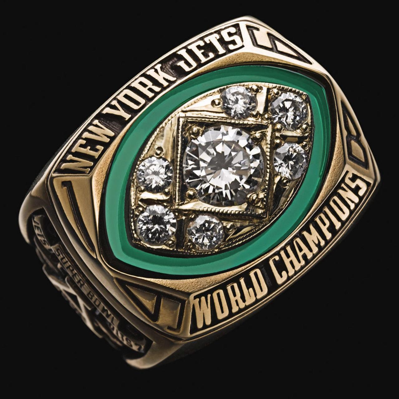 New York Jets 1969 champions ring