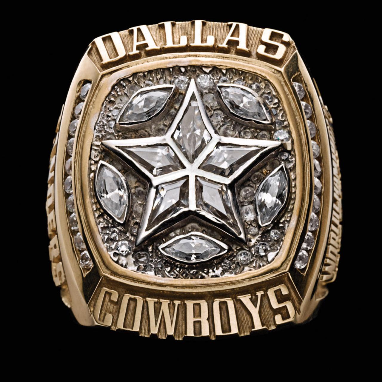 Dallas Cowboys 1996 champions ring